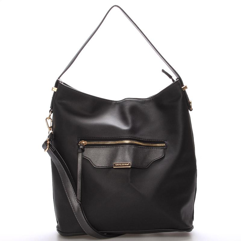 Dámská kabelka přes rameno černá - David Jones Belle