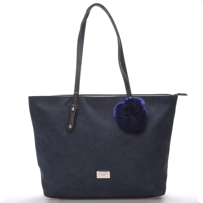 Dámská kabelka přes rameno tmavě modrá - David Jones Constancia