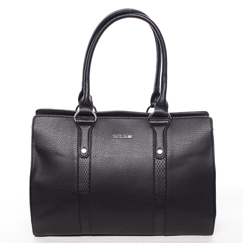 Luxusní dámská kabelka do ruky černá - David Jones Hezeka