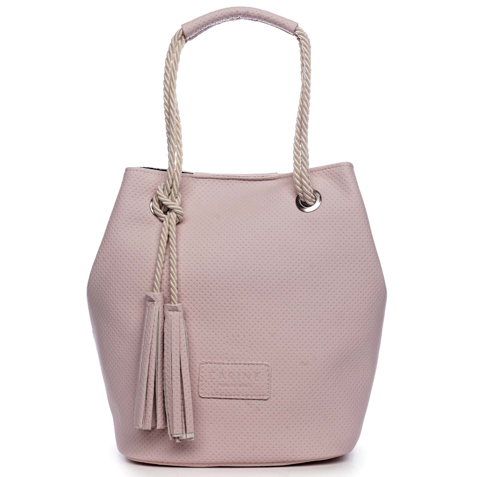 Dámská kabelka světle růžová - Carine C2000