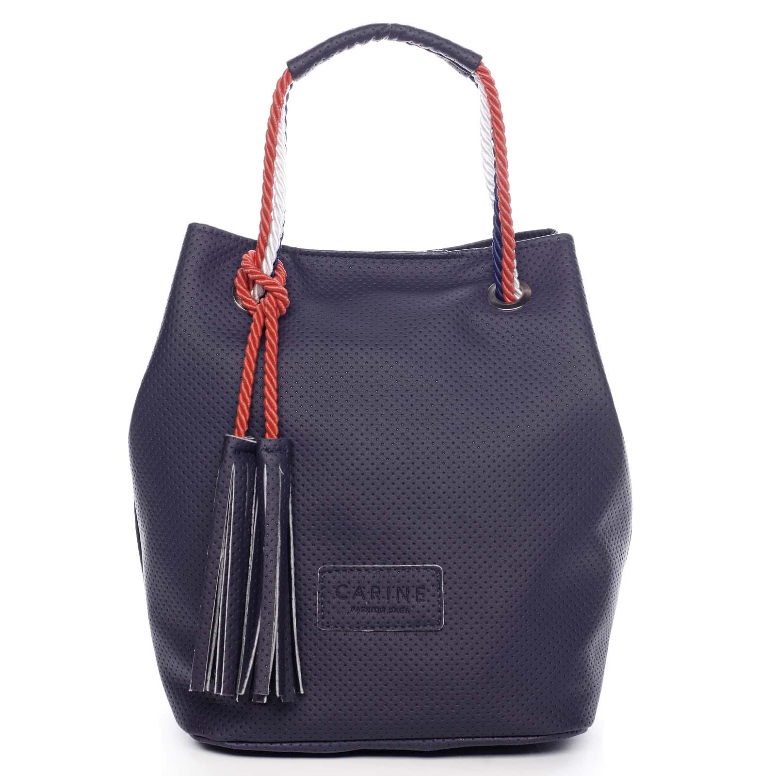 Dámská kabelka tmavě modrá - Carine C2000