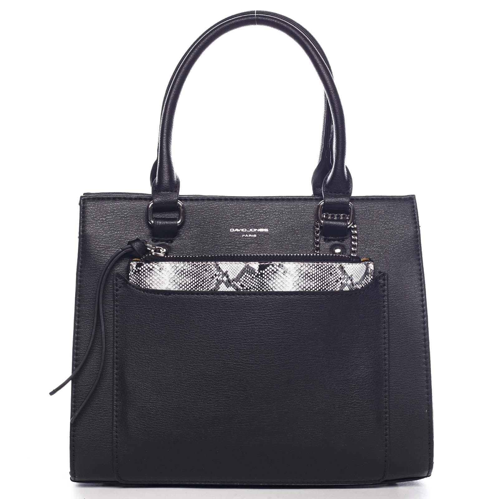 Exkluzivní dámská kabelka černá - David Jones Joan