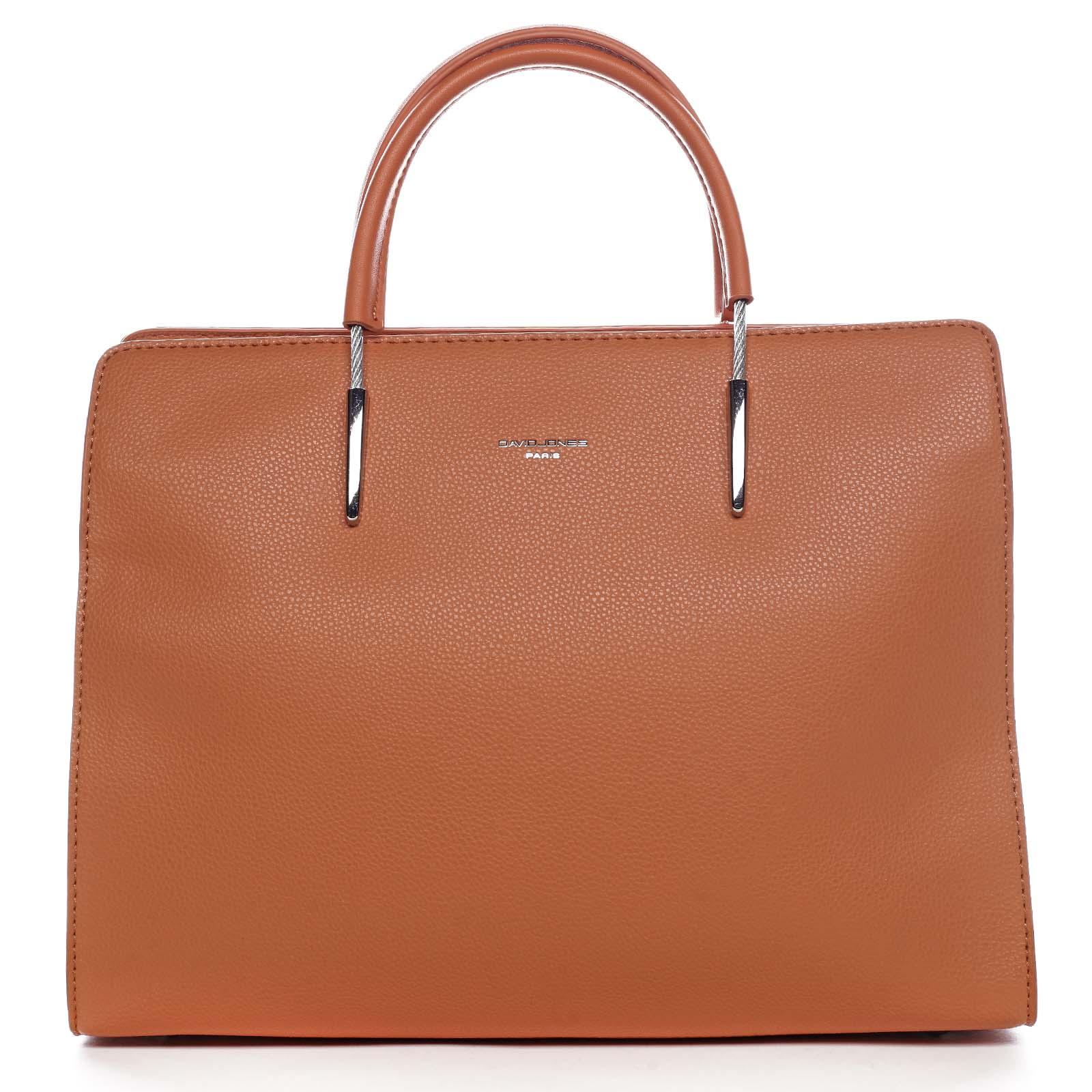 Dámská kabelka do ruky oranžová - David Jones Miracle