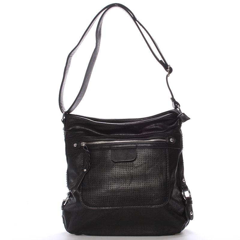 Dámská crossbody kabelka černá - Delami Estelle