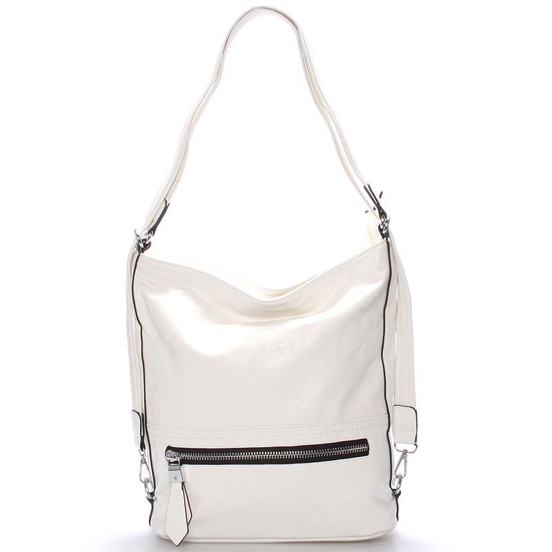 Dámská crossbody kabelka bílá - Delami Francina