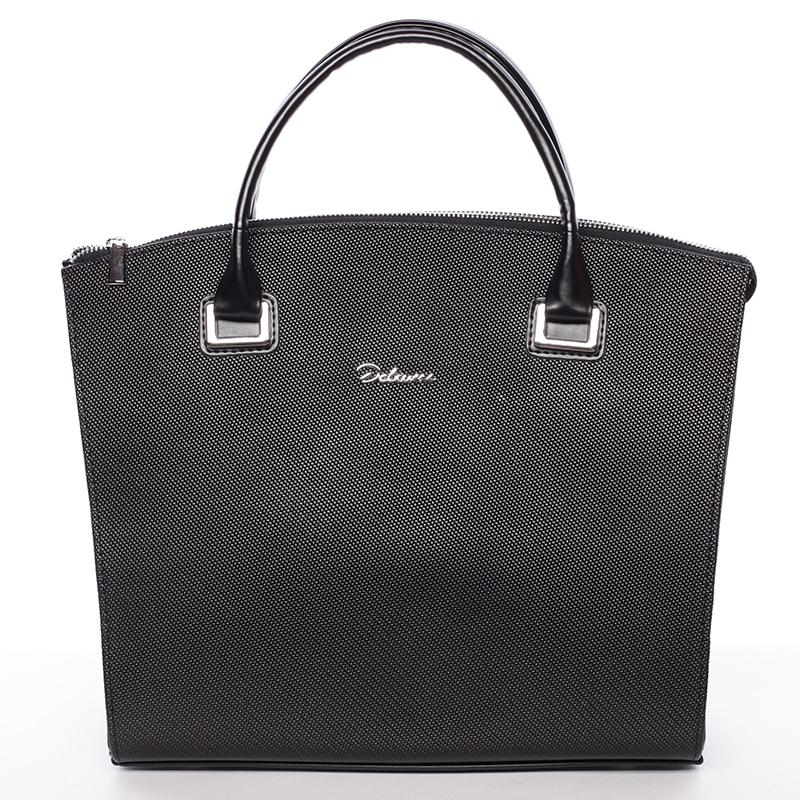 Dámská luxusní kabelka černá matná - Delami Florida