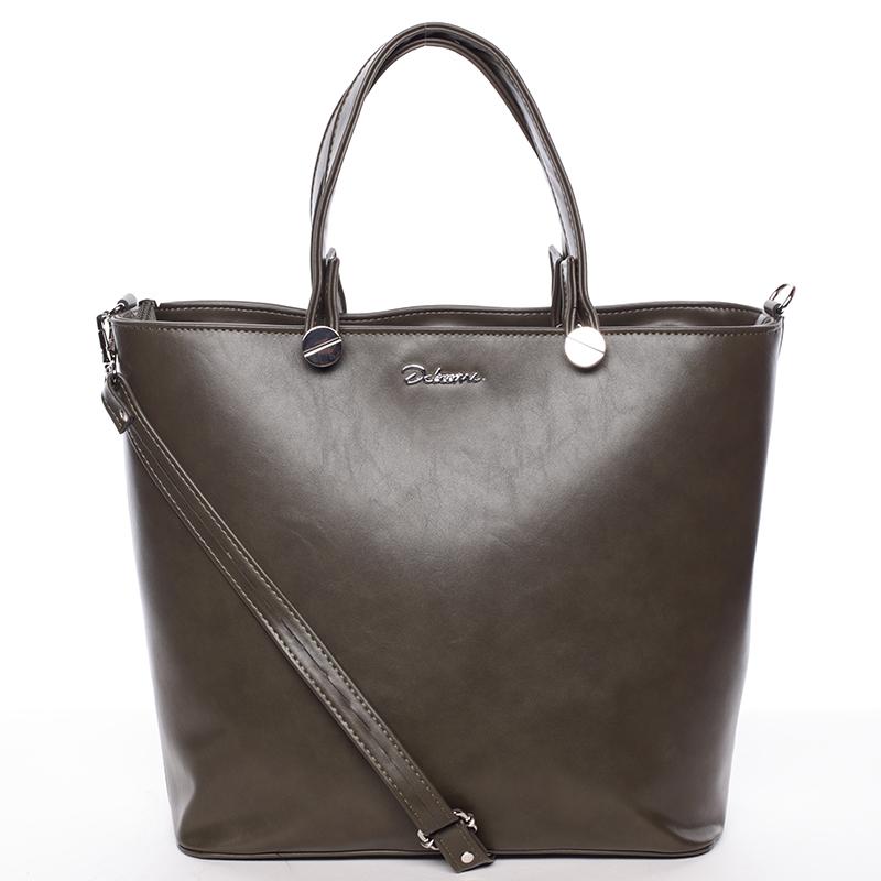 Luxusní olivová dámská kabelka - Delami Chantal