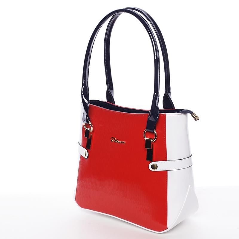 Dámská kabelka přes rameno červeno bílo modrá - Delami Chayse