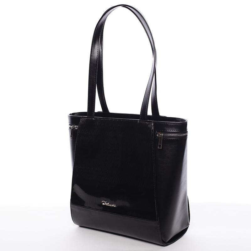 Elegantní kabelka přes rameno černá - Delami Tallis
