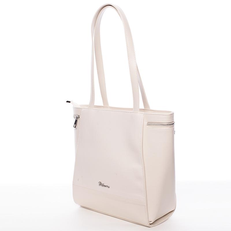 Elegantní kabelka přes rameno béžová - Delami Tallis