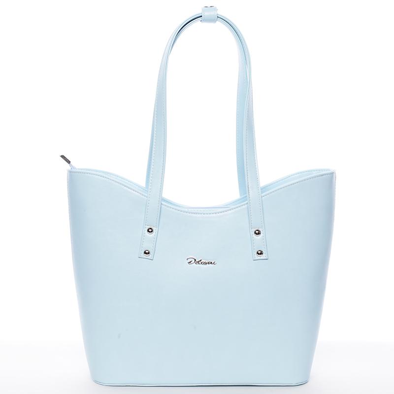 Dámská luxusní kabelka přes rameno modrá - Delami Alexia
