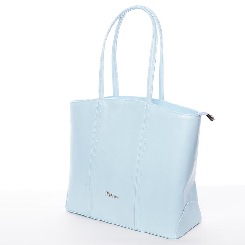 Dámská luxusní kabelka přes rameno modrá - Delami Yvonne
