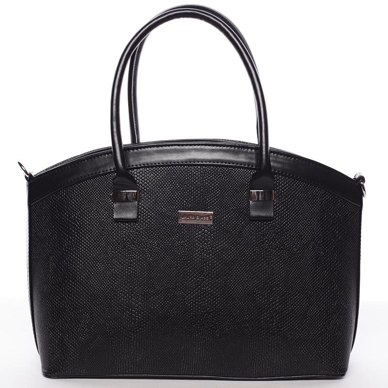 Luxusní černá dámská kabelka do společnosti - Delami Renee