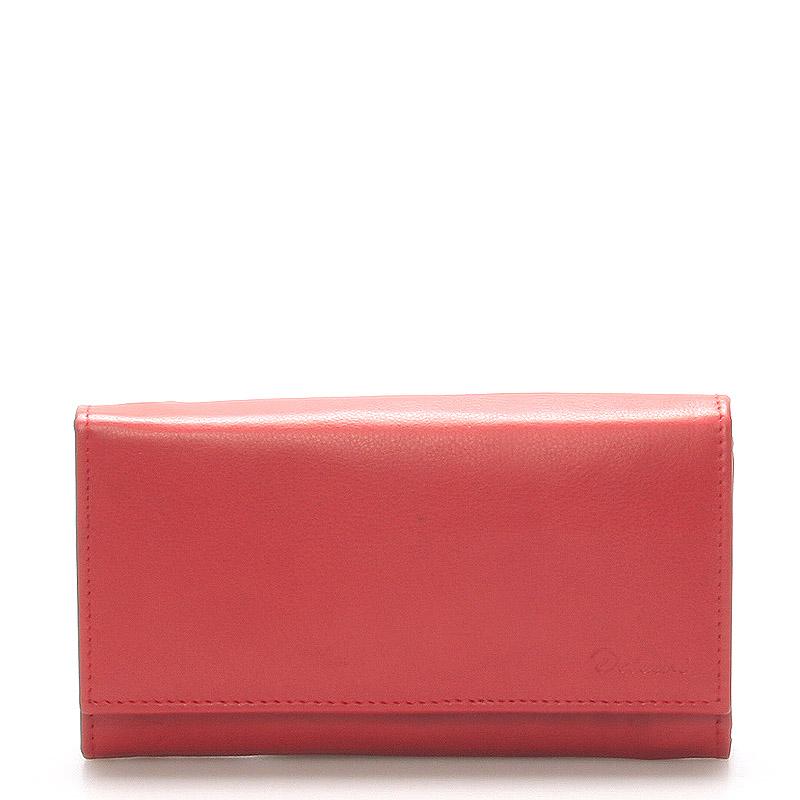 Stylová červená dámská peněženka - Delami Vippe