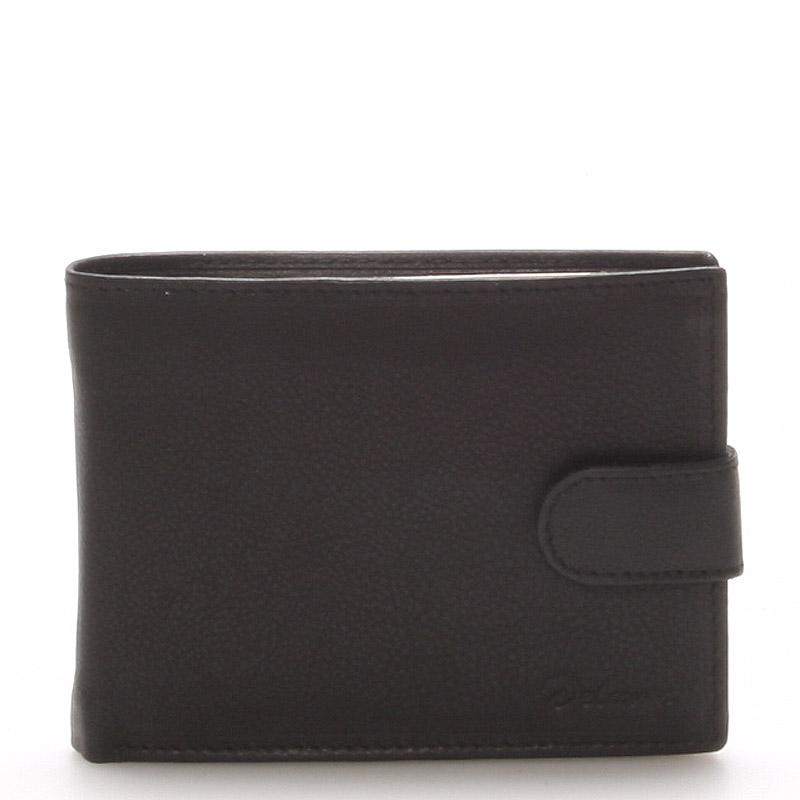Kožená peněženka černá - Delami 8693