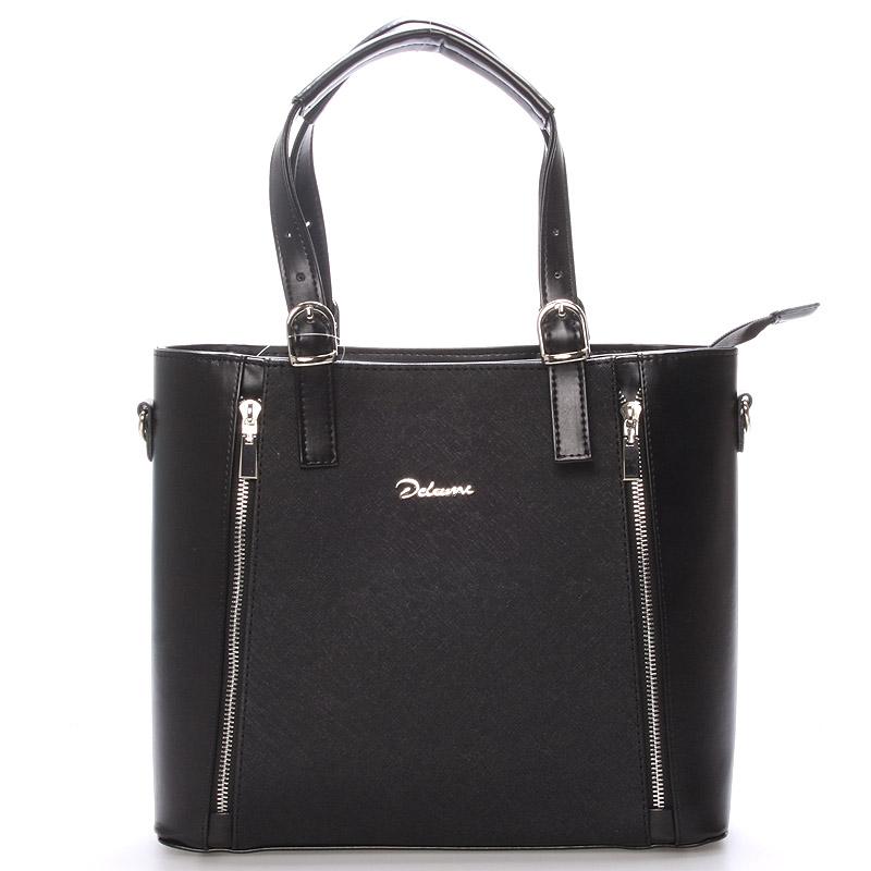 Dámská kabelka černá matná - Delami Nicole