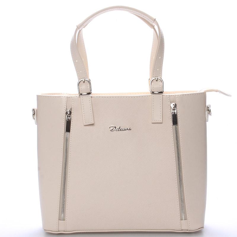 Dámská kabelka béžová - Delami Nicole
