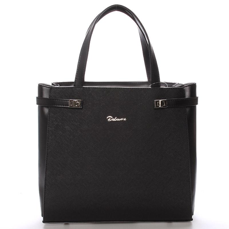 Elegantní dámská kabelka černá - Delami Oriel