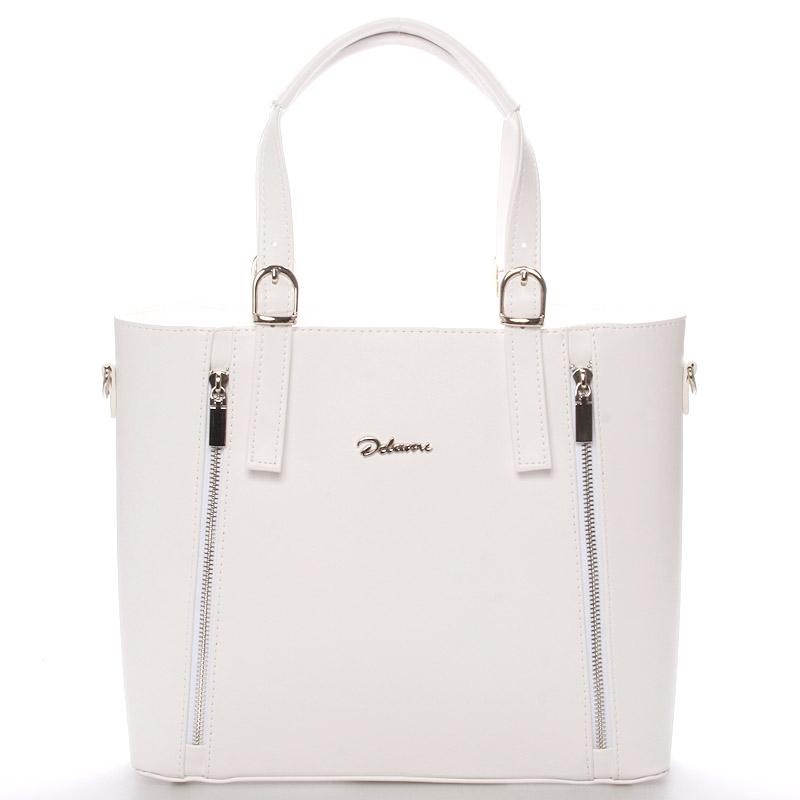 Dámská kabelka bílá - Delami Nicole