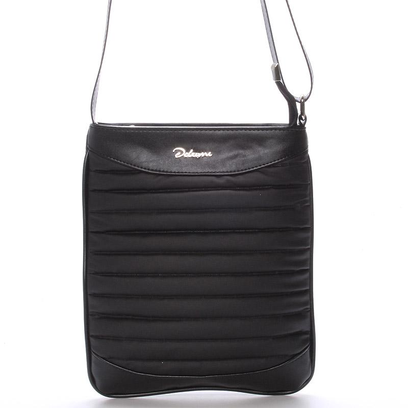 Menší crossbody kabelka černá - Delami Jineen