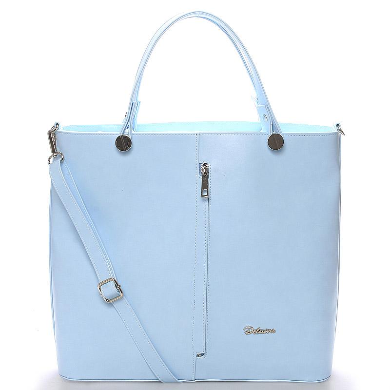 Luxusní modrá dámská kabelka - Delami Catherine