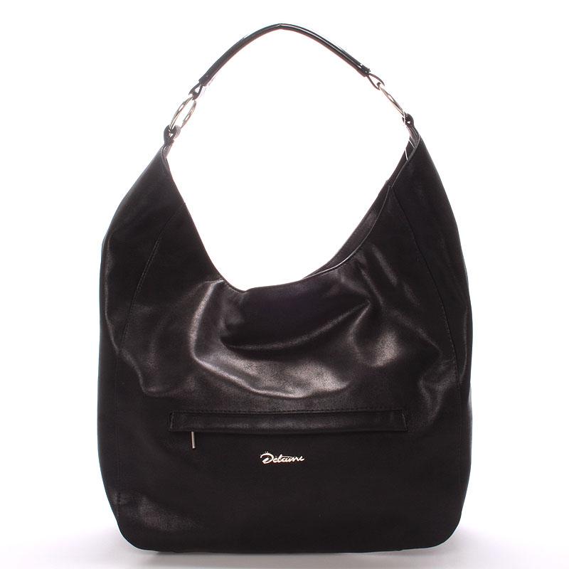 Dámská elegantní kabelka přes rameno černá - Delami Anna
