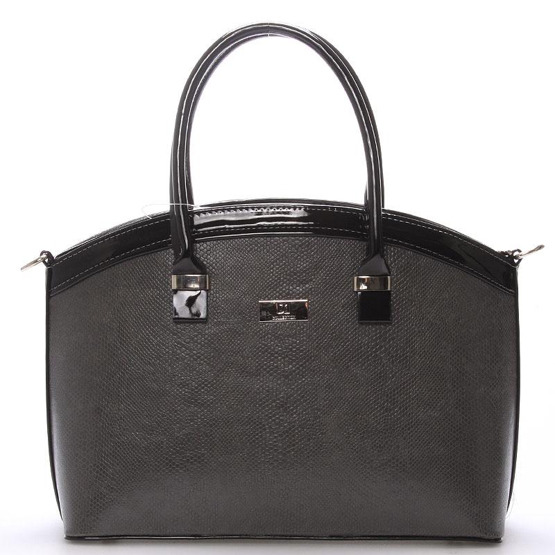 Elegantní šedá dámská kabelka do společnosti - Delami Renee
