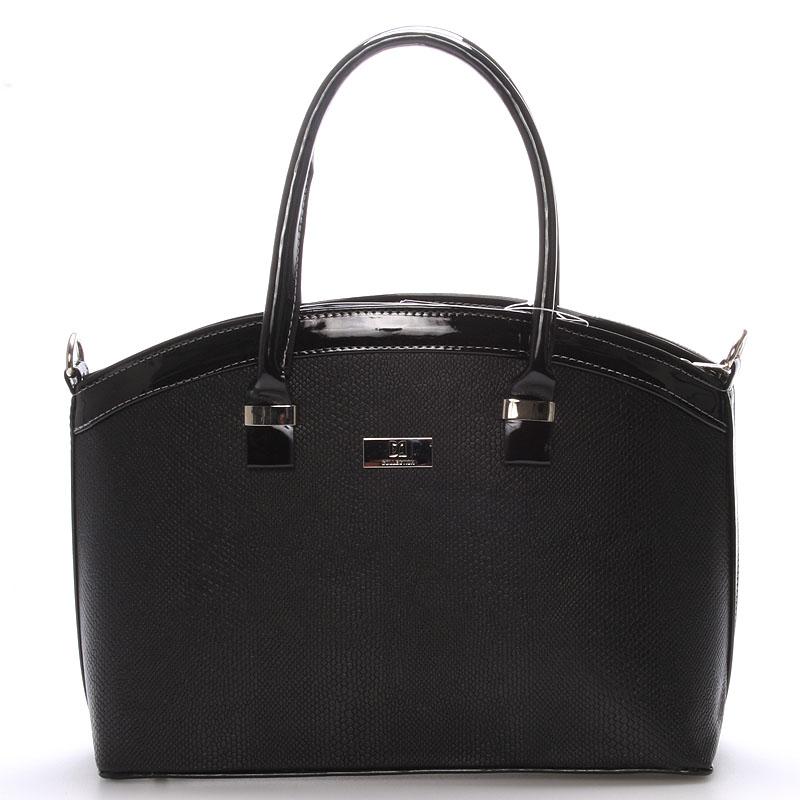 Elegantní černá dámská kabelka do společnosti - Delami Renee