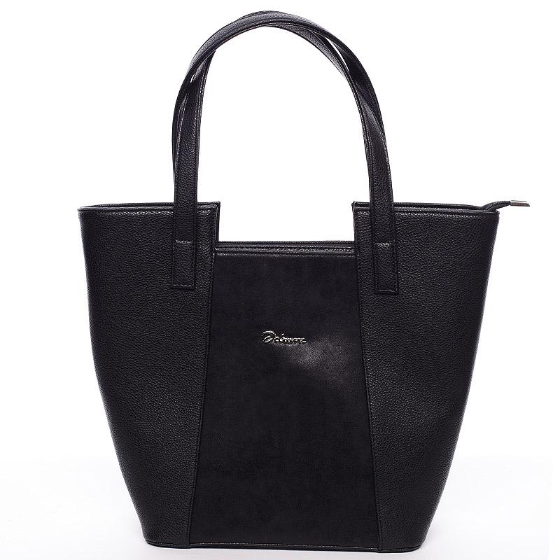 Dámská elegantní kabelka přes rameno černá - Delami Annie