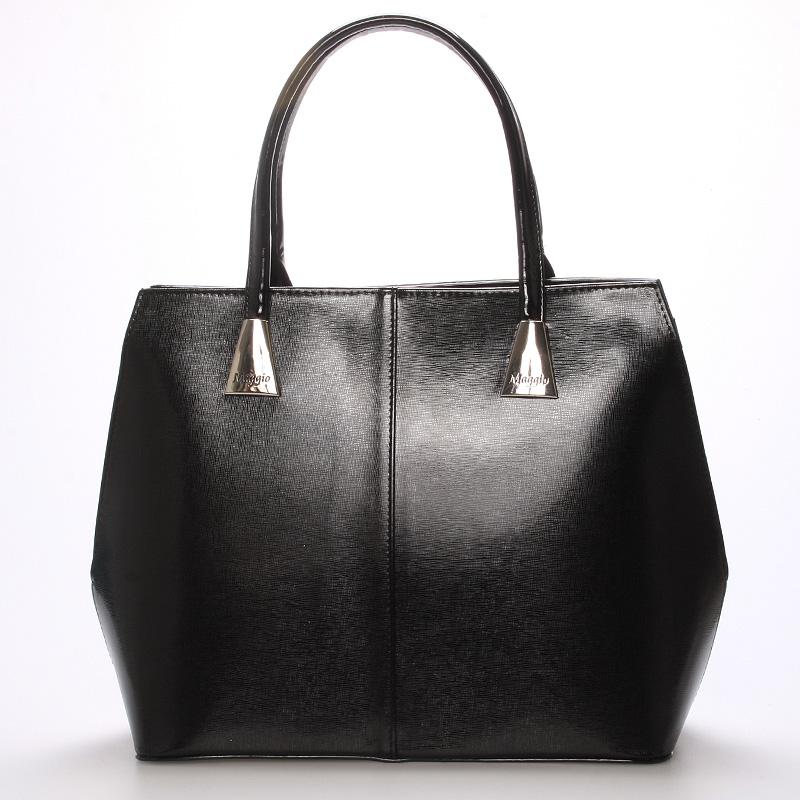 Dámská luxusní kabelka černá - Maggio Michele