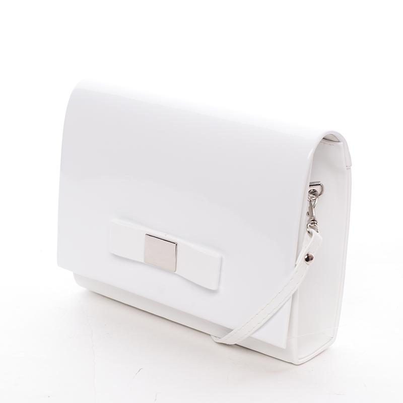 Luxusní dámské psaníčko bílé matné - Delami Chicago Fresno