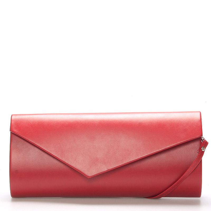 Stylové dámské psaníčko červené - Delami Charlotte