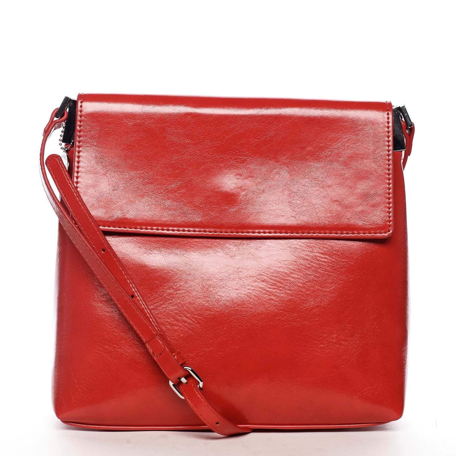 Dámská crossbody kabelka červená - DIANA & CO Buzzy