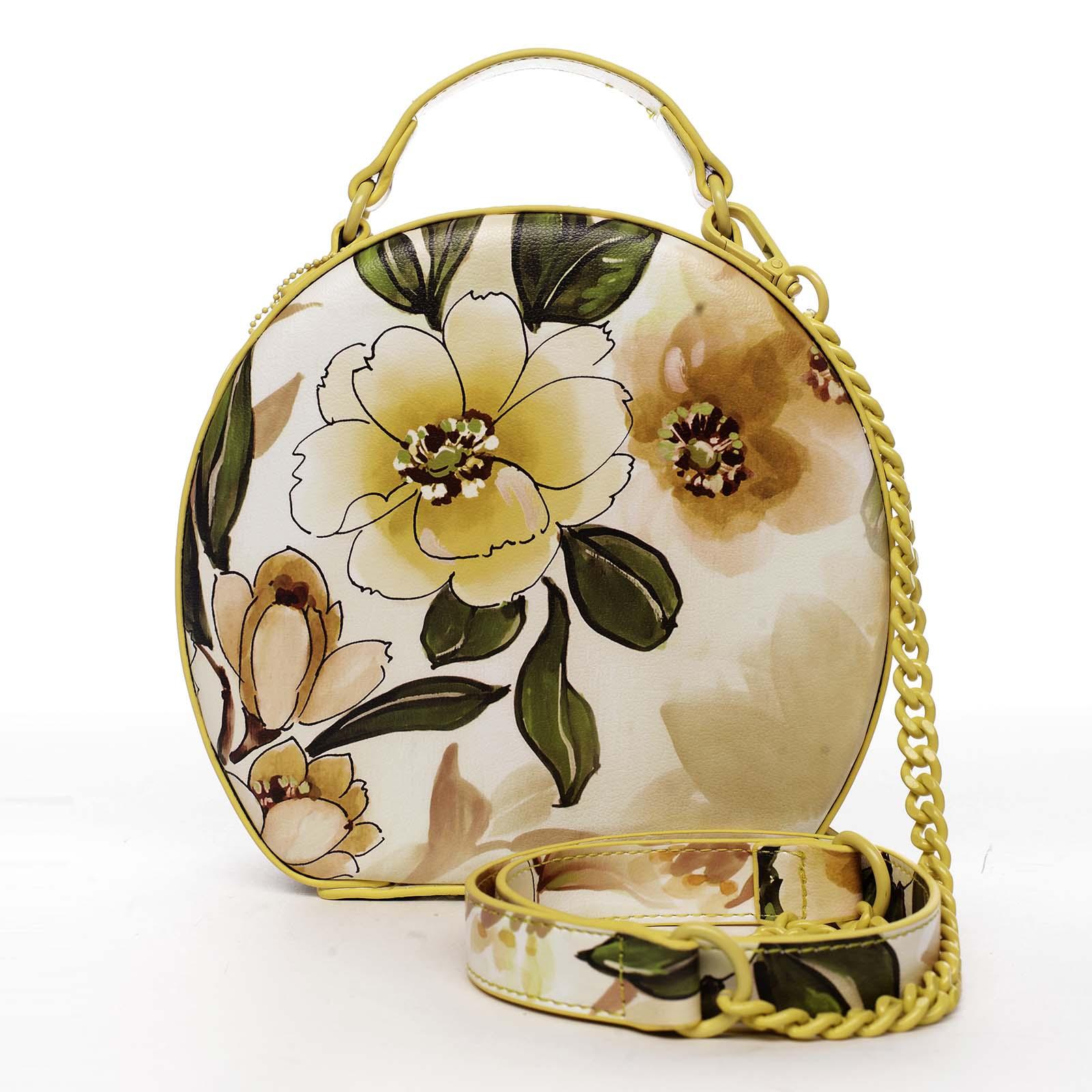 Dámská kabelka žlutá - DIANA & CO Liliána
