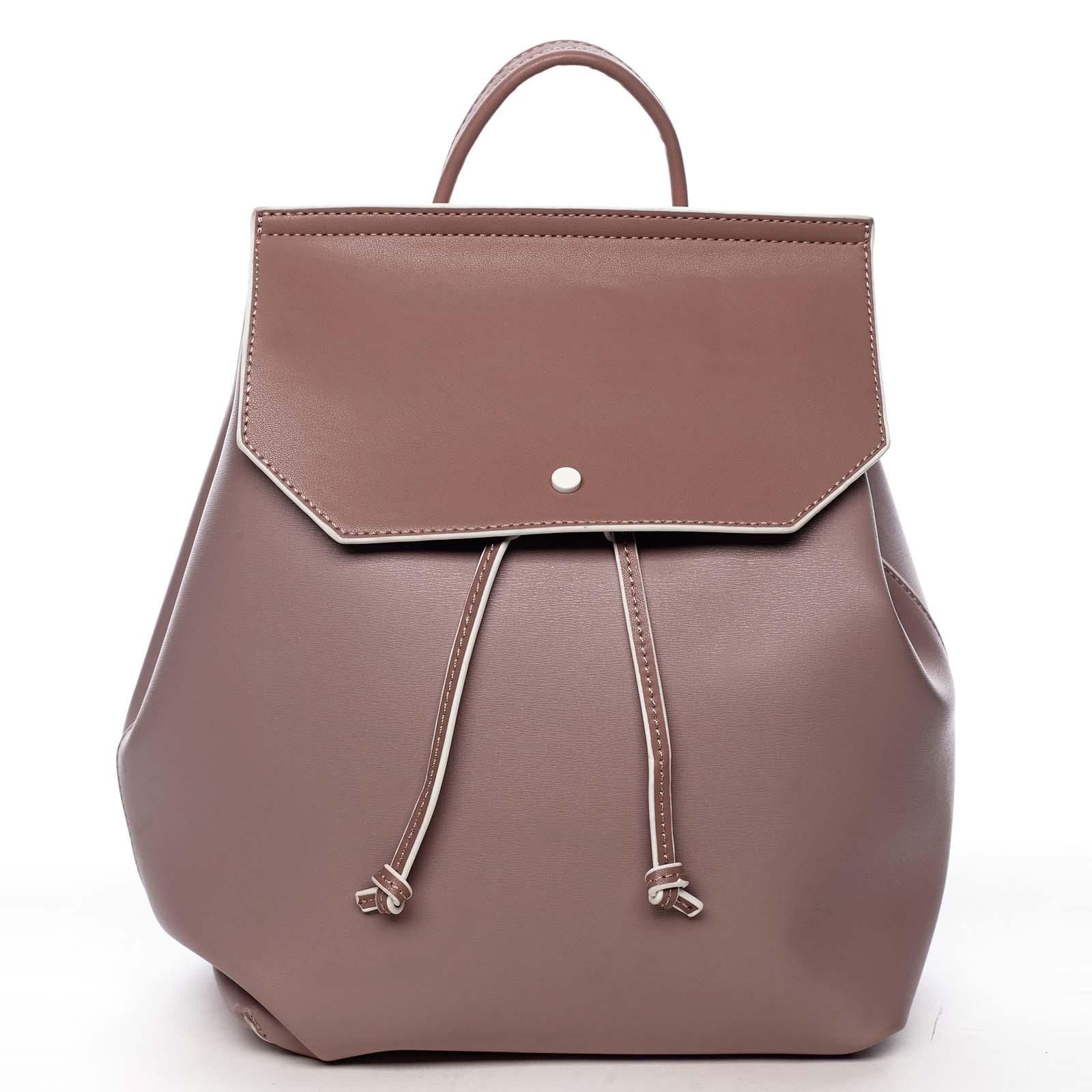 Dámský městský batoh bledě fialový - DIANA & CO Cerendinok