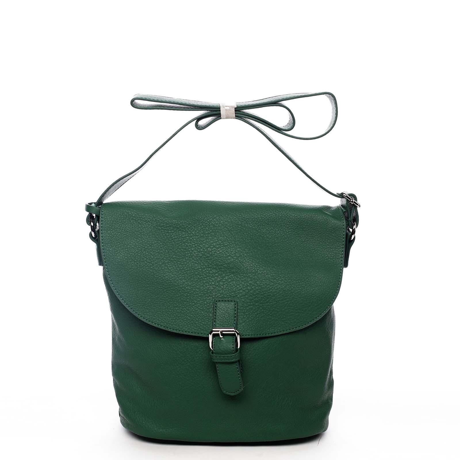 Dámská kabelka přes rameno zelená - DIANA & CO Leilla