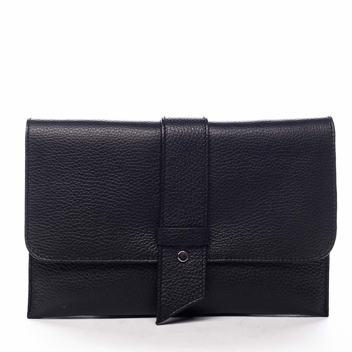 Luxusní dámská kabelka černá - ItalY Brother