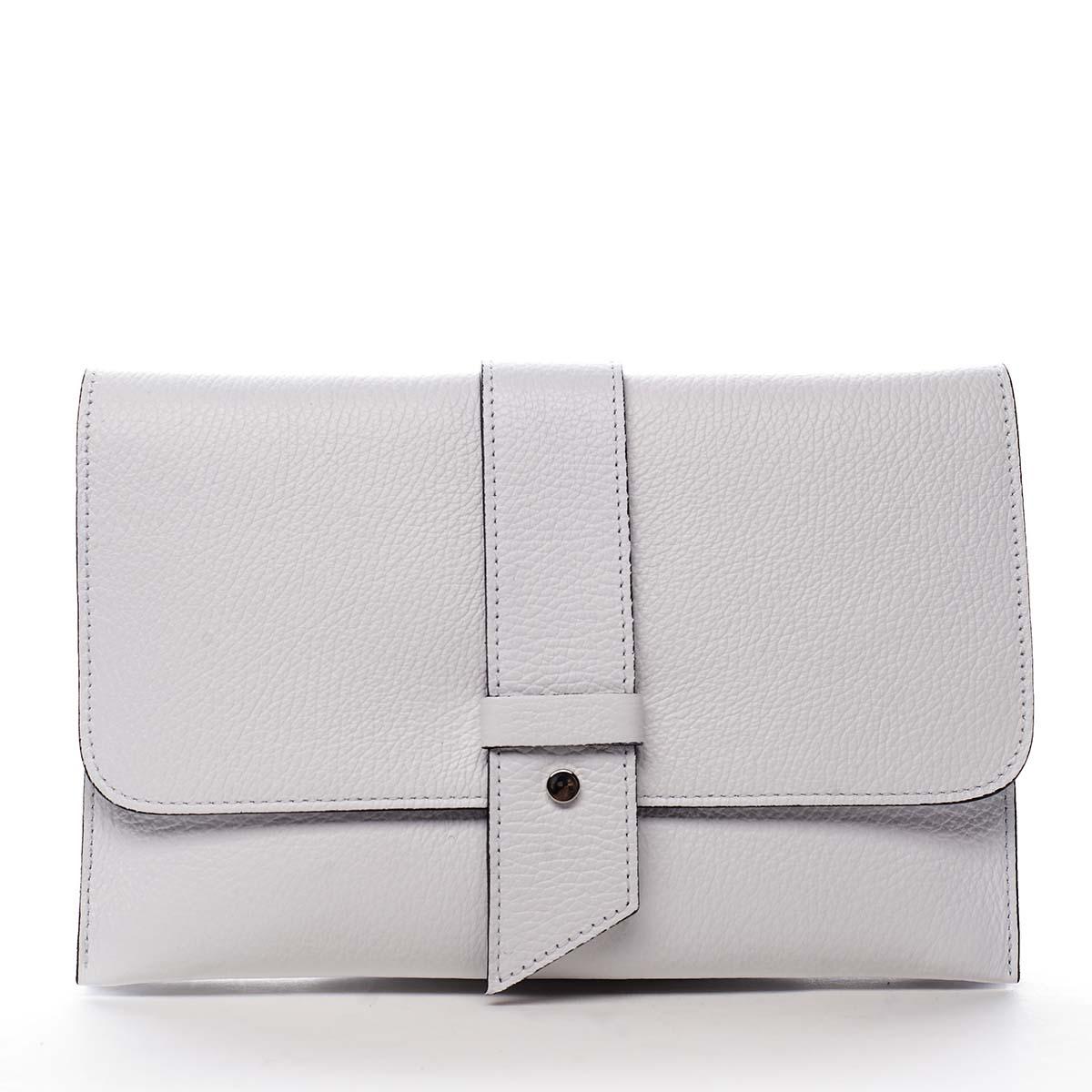 Luxusní dámská kabelka bílá - ItalY Brother