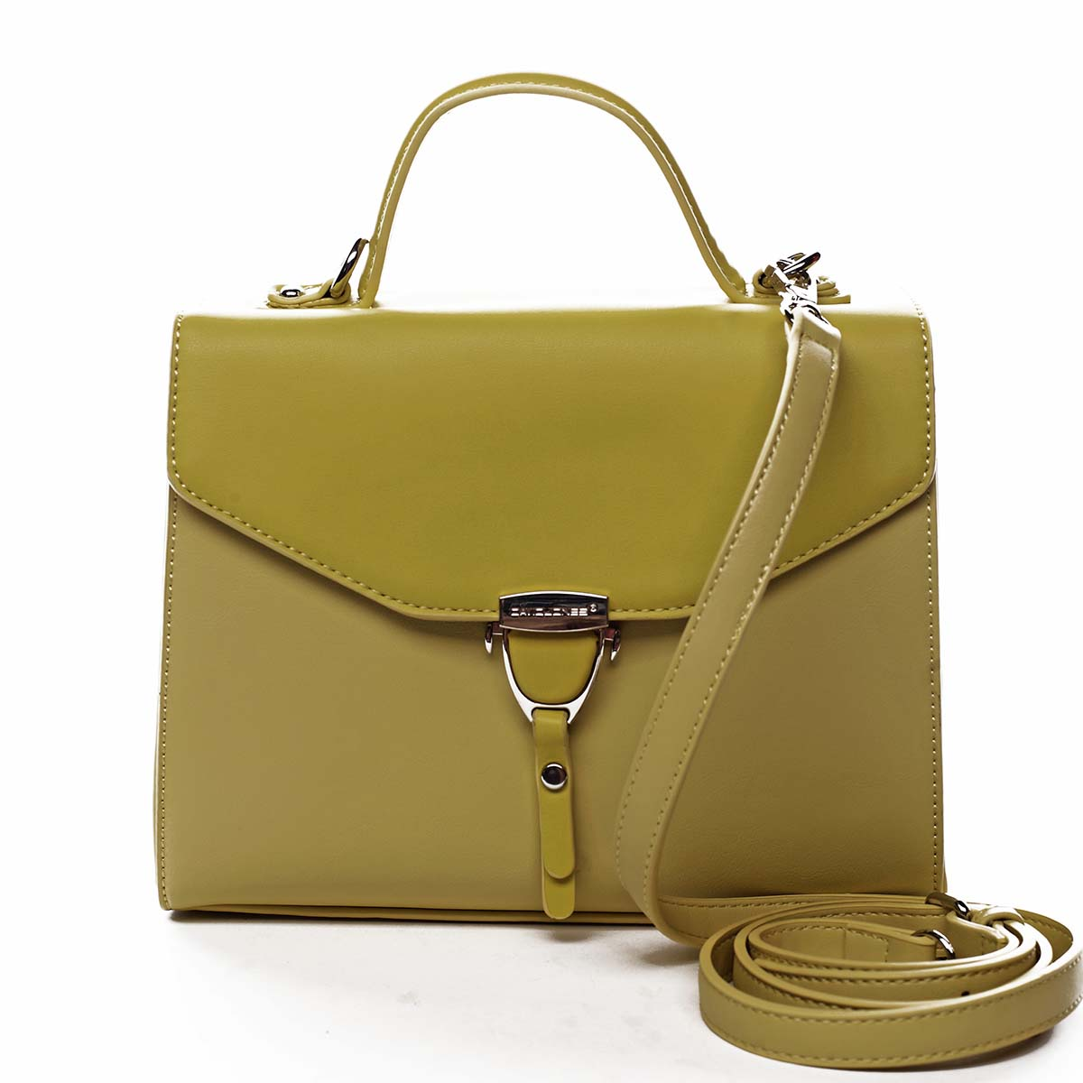 Dámská kabelka do ruky žlutá - David Jones California