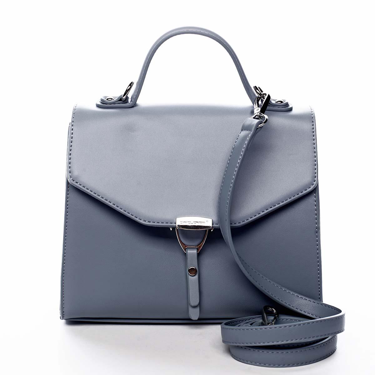 Dámská kabelka do ruky světle modrá - David Jones California