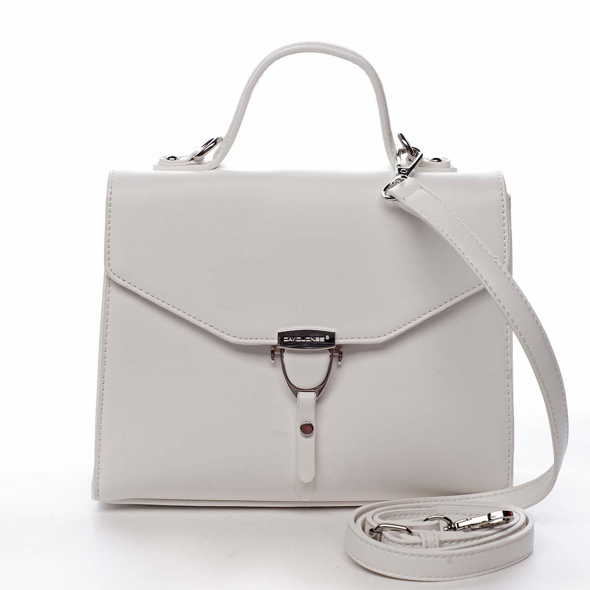 Dámská kabelka do ruky bílá - David Jones California