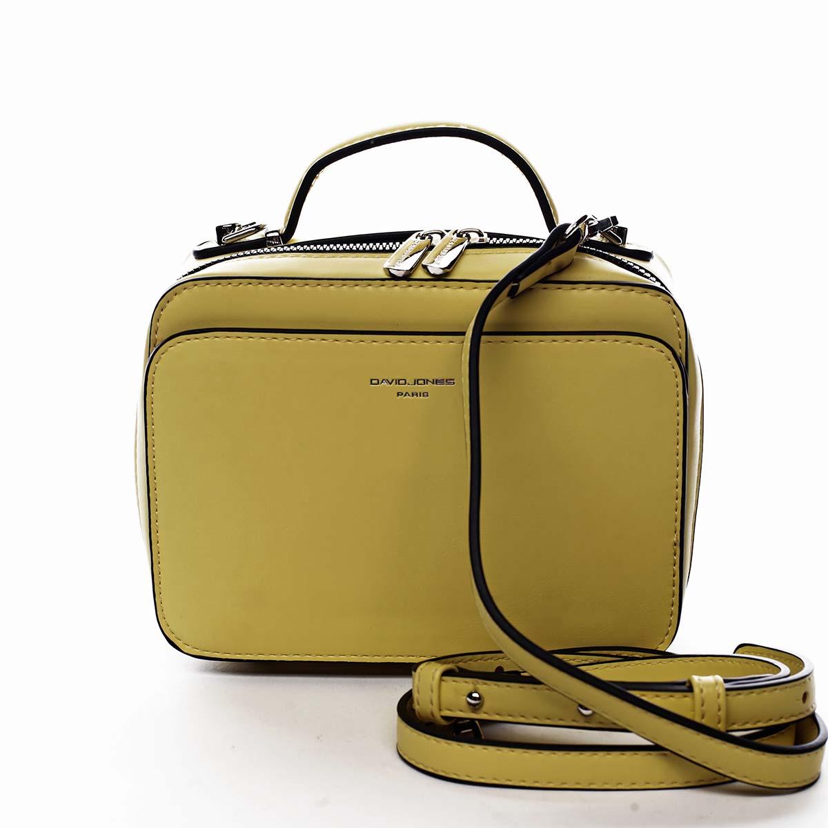Dámská kabelka žlutá - David Jones Zara