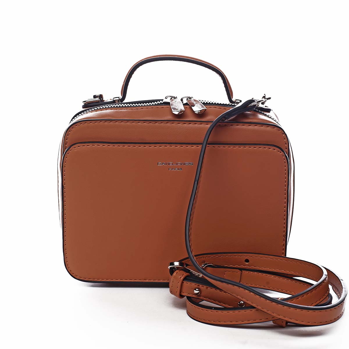 Dámská kabelka oranžová - David Jones Zara