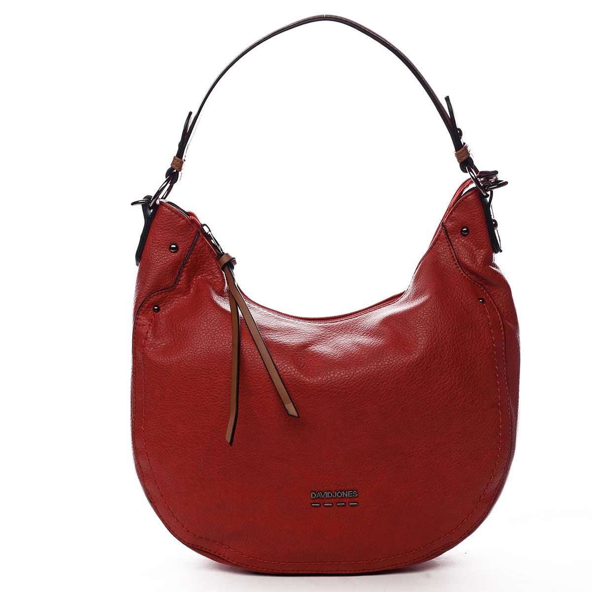 Dámská kabelka červená - David Jones Nadini