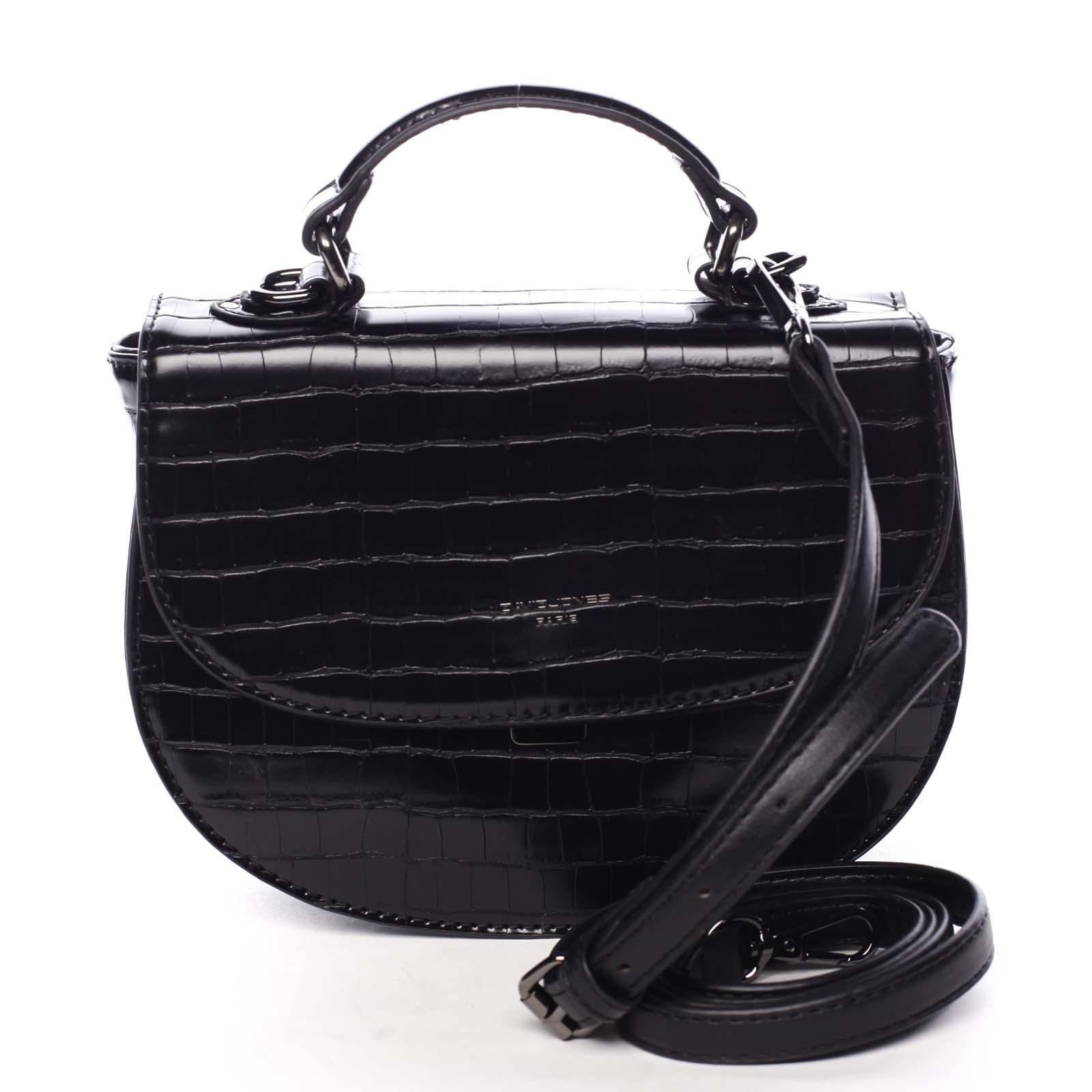 Dámská kabelka do ruky černá - David Jones Cosette