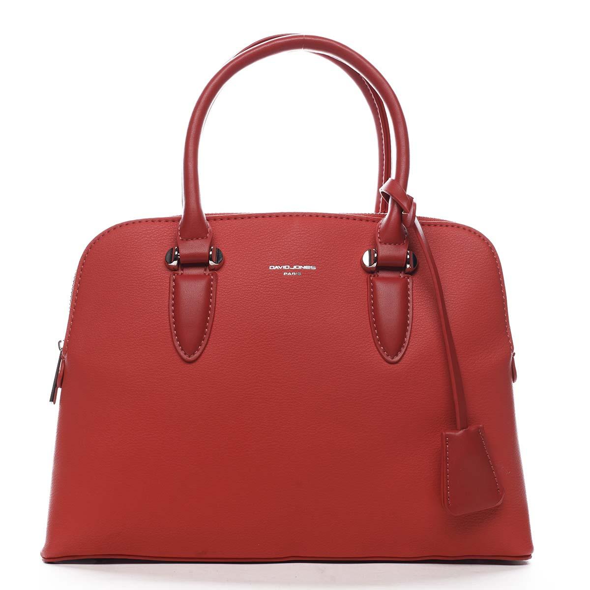 Dámská kabelka do ruky červená - David Jones Nemoris