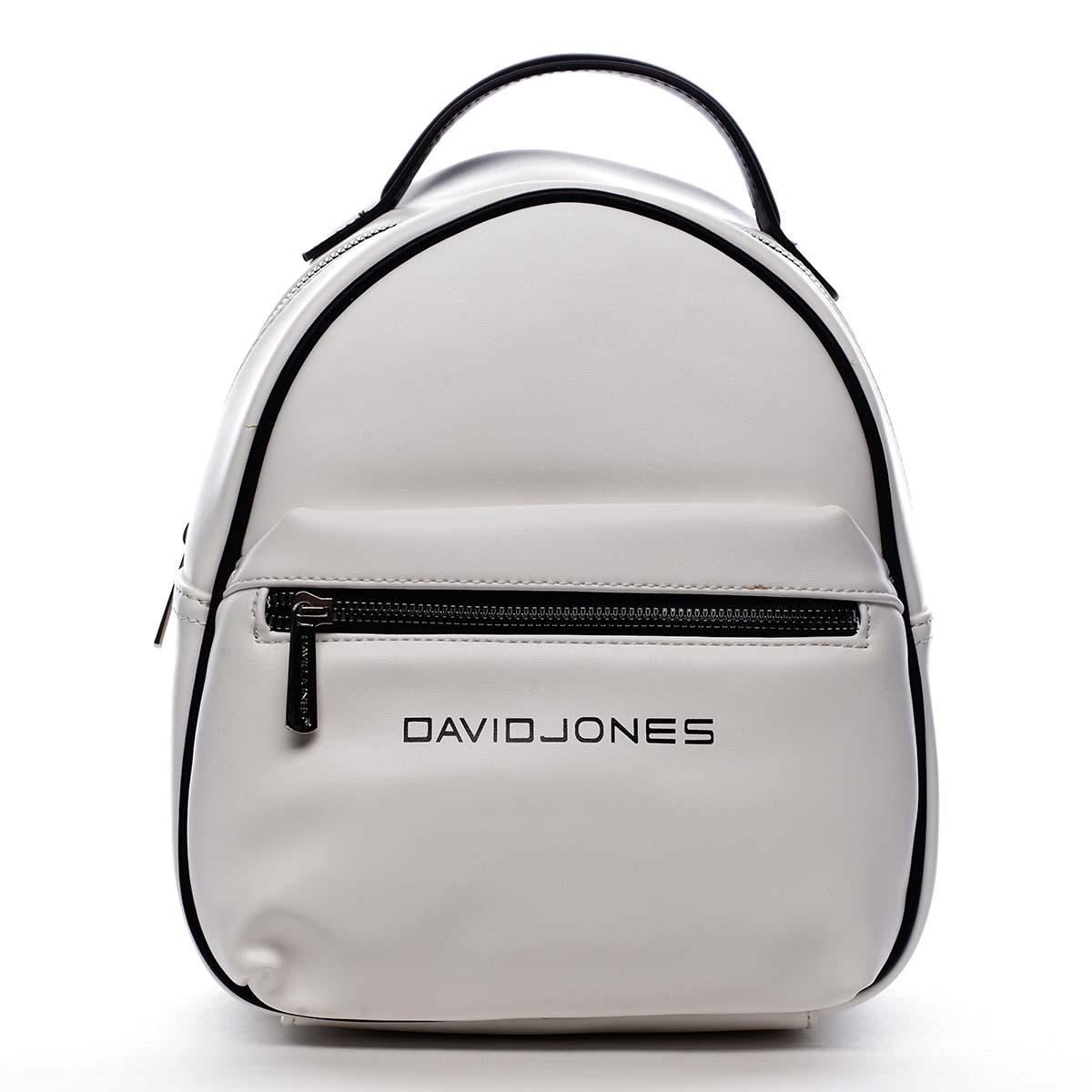 Dámský městský batoh bílý - David Jones Sennyel