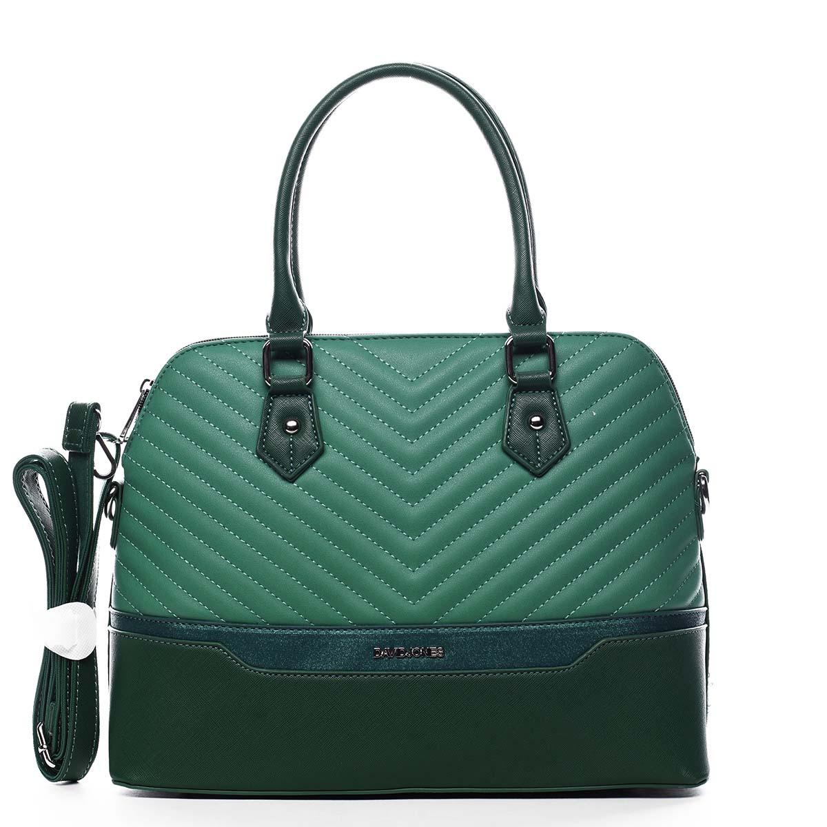 Dámská kabelka do ruky zelená - David Jones Roshel