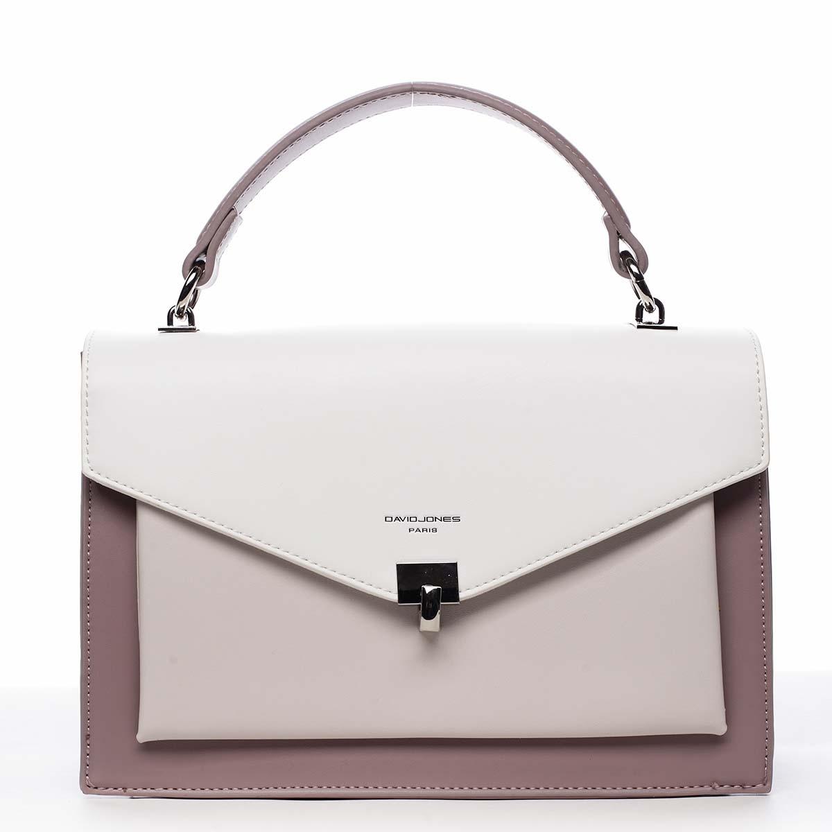 Dámská kabelka do ruky fialová - David Jones Holeruge