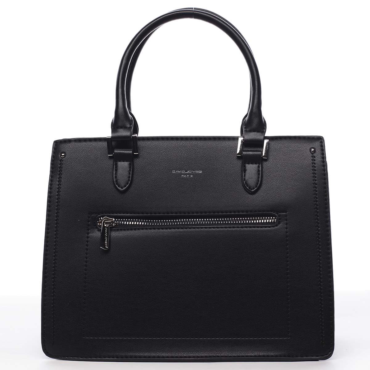 Dámská kabelka do ruky černá - David Jones Samentha